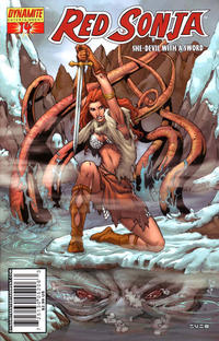 Cover Thumbnail for Red Sonja (Dynamite Entertainment, 2005 series) #14 [Mel Rubi Cover]