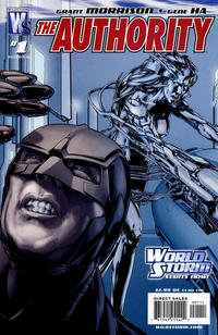 Cover Thumbnail for The Authority (DC, 2006 series) #1 [Direct Edition]
