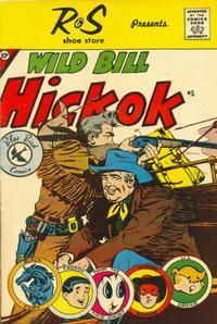 Cover Thumbnail for Wild Bill Hickok (Charlton, 1959 series) #5 [R & S Shoe Store]