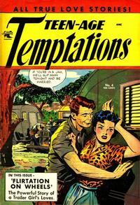Cover Thumbnail for Teen-Age Temptations (St. John, 1952 series) #4