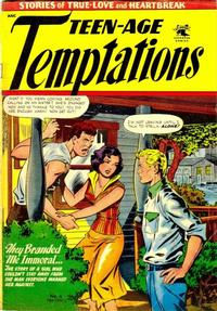 Cover Thumbnail for Teen-Age Temptations (St. John, 1952 series) #6