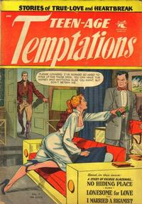 Cover Thumbnail for Teen-Age Temptations (St. John, 1952 series) #7