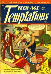 Cover Thumbnail for Teen-Age Temptations (St. John, 1952 series) #8
