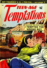 Cover Thumbnail for Teen-Age Temptations (St. John, 1952 series) #9