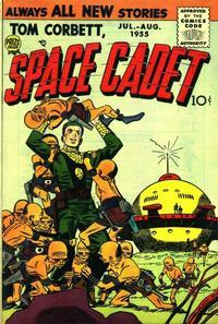 Cover Thumbnail for Tom Corbett, Space Cadet (Prize, 1955 series) #v2#2