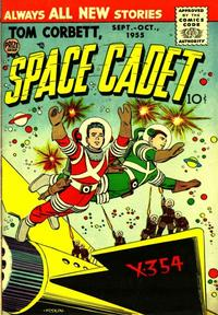 Cover Thumbnail for Tom Corbett, Space Cadet (Prize, 1955 series) #v2#3