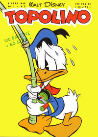 Cover Thumbnail for Topolino (Arnoldo Mondadori Editore, 1949 series) #3