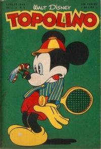Cover Thumbnail for Topolino (Arnoldo Mondadori Editore, 1949 series) #4
