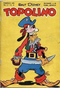 Cover Thumbnail for Topolino (Arnoldo Mondadori Editore, 1949 series) #11