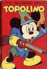 Cover Thumbnail for Topolino (Arnoldo Mondadori Editore, 1949 series) #20