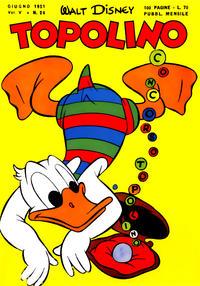 Cover Thumbnail for Topolino (Arnoldo Mondadori Editore, 1949 series) #28