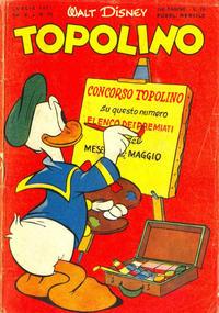 Cover Thumbnail for Topolino (Arnoldo Mondadori Editore, 1949 series) #29