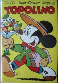Cover Thumbnail for Topolino (Arnoldo Mondadori Editore, 1949 series) #43