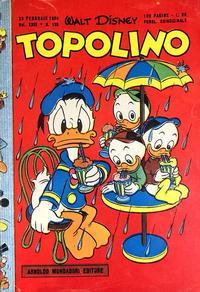 Cover Thumbnail for Topolino (Arnoldo Mondadori Editore, 1949 series) #133