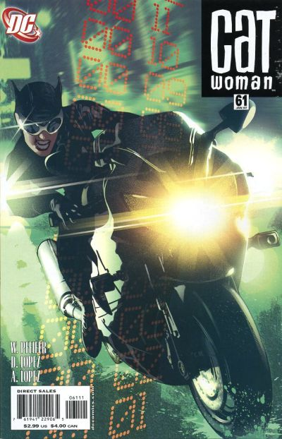 Cover for Catwoman (DC, 2002 series) #61