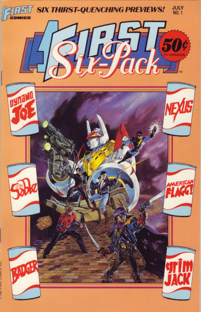 Cover for First Six Pack (First, 1987 series) #1