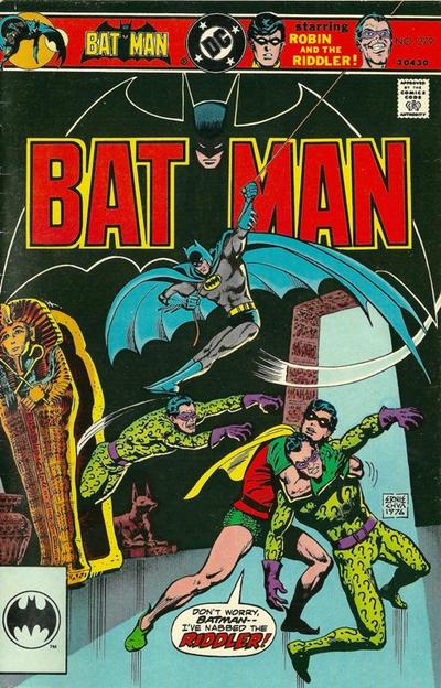 Cover for Batman Vol. 37 No. 279 Reprint (DC, 1995 series) #[nn]