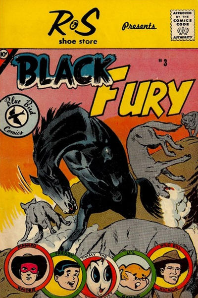 Cover for Black Fury (Charlton, 1959 series) #3 [Schiff's Shoes]