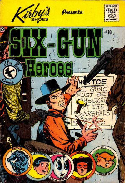 Cover for Six-Gun Heroes (Charlton, 1959 series) #10 [Kirby's Shoes]