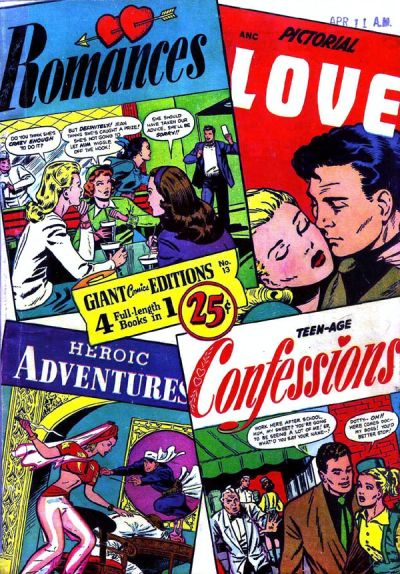 Cover for Giant Comics Editions (St. John, 1948 series) #13