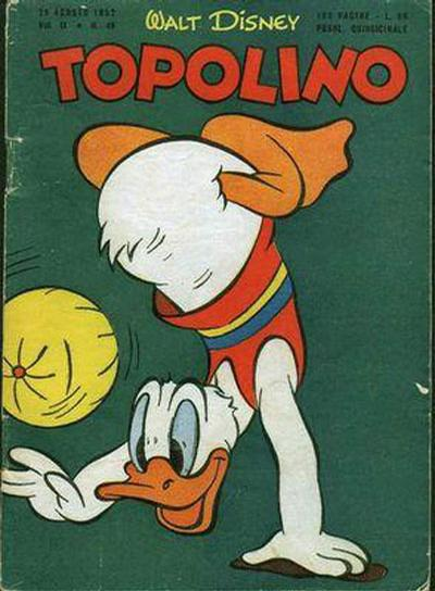 Cover for Topolino (Arnoldo Mondadori Editore, 1949 series) #49