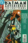 Cover for The Batman Adventures: The Lost Years (DC, 1998 series) #5