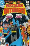 Cover for Batman and the Outsiders (DC, 1983 series) #1 [Direct]