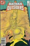 Cover for Batman and the Outsiders (DC, 1983 series) #18 [Newsstand]