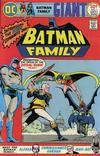 Cover for The Batman Family (DC, 1975 series) #1
