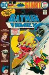 Cover for The Batman Family (DC, 1975 series) #4