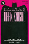 Cover for Legends of the Dark Knight (DC, 1989 series) #1 [Pink Cover]