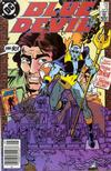 Cover Thumbnail for Blue Devil (1984 series) #12 [Newsstand Edition]