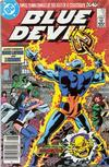 Cover Thumbnail for Blue Devil (1984 series) #13 [Newsstand]
