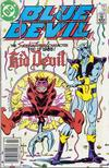 Cover for Blue Devil (DC, 1984 series) #14 [Newsstand]