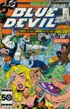 Cover for Blue Devil (DC, 1984 series) #17 [Direct]