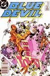 Cover Thumbnail for Blue Devil (1984 series) #24 [Newsstand]