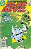 Cover Thumbnail for Blue Devil (1984 series) #25 [Newsstand]