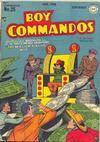 Cover for Boy Commandos (DC, 1942 series) #25