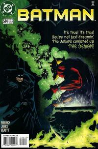 Cover Thumbnail for Batman (DC, 1940 series) #544