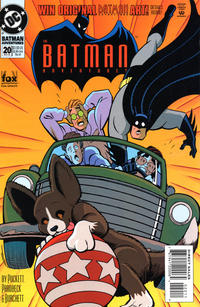 Cover Thumbnail for The Batman Adventures (DC, 1992 series) #20