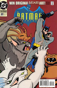 Cover Thumbnail for The Batman Adventures (DC, 1992 series) #21 [Direct Sales]