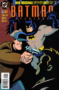 Cover Thumbnail for The Batman Adventures (DC, 1992 series) #33 [Direct Sales]