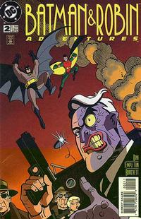 Cover Thumbnail for The Batman and Robin Adventures (DC, 1995 series) #2 [Direct Sales]