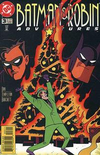 Cover Thumbnail for The Batman and Robin Adventures (DC, 1995 series) #3 [Direct Sales]