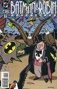 Cover Thumbnail for The Batman and Robin Adventures (DC, 1995 series) #4 [Direct Sales]