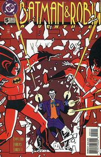 Cover Thumbnail for The Batman and Robin Adventures (DC, 1995 series) #5 [Direct Sales]