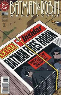 Cover Thumbnail for The Batman and Robin Adventures (DC, 1995 series) #6 [Direct Sales]
