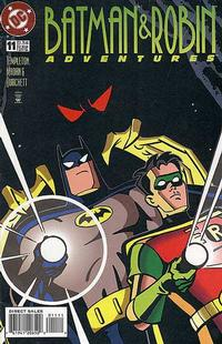Cover Thumbnail for The Batman and Robin Adventures (DC, 1995 series) #11 [Direct Sales]