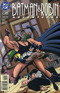 Cover Thumbnail for The Batman and Robin Adventures (DC, 1995 series) #12 [Direct Sales]