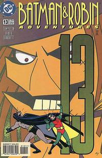 Cover Thumbnail for The Batman and Robin Adventures (DC, 1995 series) #13 [Direct Sales]